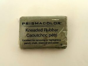 A picture of a kneaded eraser